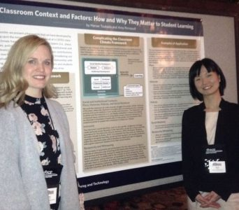 Amy and Hanae were awarded one of the POD conference travel fellowships for their work.